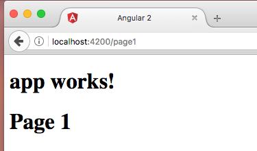 Make an simple Angular 2 SPA
