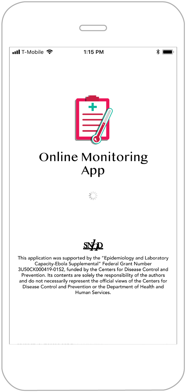 Online Monitoring mobile app