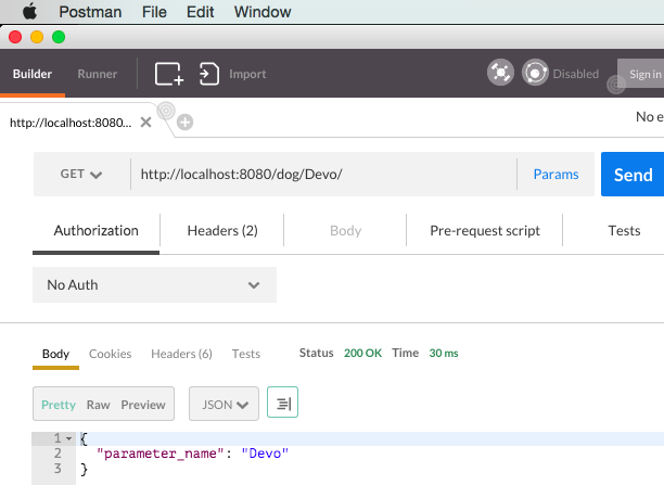 Using POSTMAN to get parameters in express.js and nodel.js