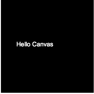 Printing text in HTML5 Canvas JavaScript