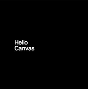 Printing text on HTML5 Canvas JS with line break