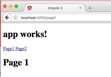 Make a simple Angular 2 SPA.