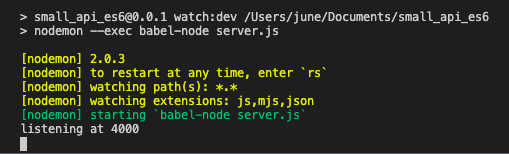 How to setup BabelJS to use ES6 on your NodeJS app