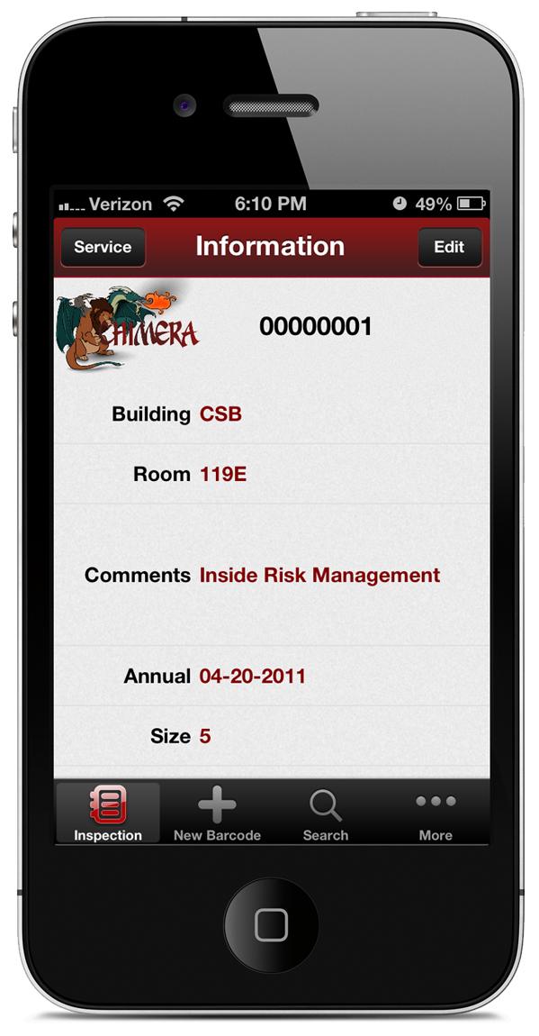 Chimera FEq ios app