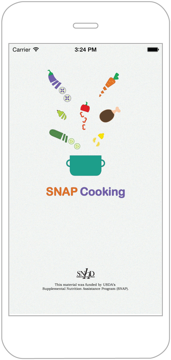 SNAP Cooking app design and development